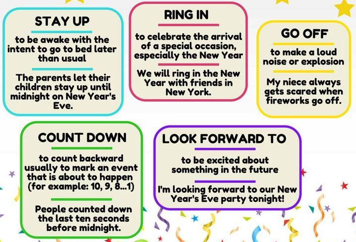 new year idioms